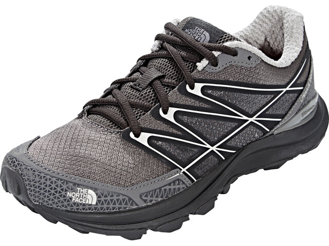 The North Face Litewave Endurance Chaussures de trail Femme, dark gull grey/foil grey